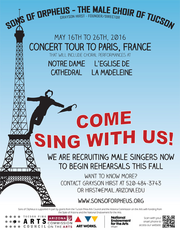 Come Sing With Us!